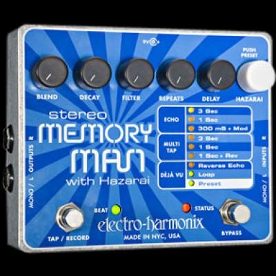 Stereo Memory Man with Hazarai, Digital Delay Looper