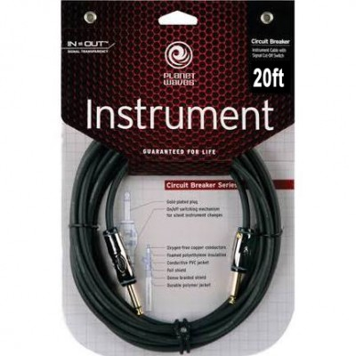 Planet Waves PW-AG-20 Circuit Breaker Cables (Straight-Straight)