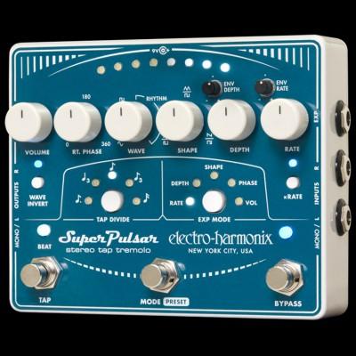 Electro Harmonix Super Pulsar - Stereo Tap Tremolo
