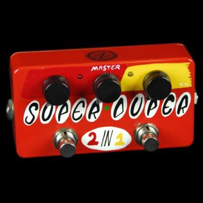Zvex  Super Duper Boost pedal