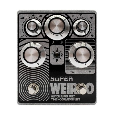 JPTR FX SUPER WEIRDO - Fuzz Modulator Pedal