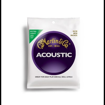 80/20 Bronze Acoustic Extra Light 10-47 M170