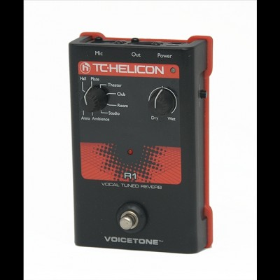 TC-Helicon VoiceTone R1 Vocal Tuned Studio Quality Reverb (Ex Display - No Box)