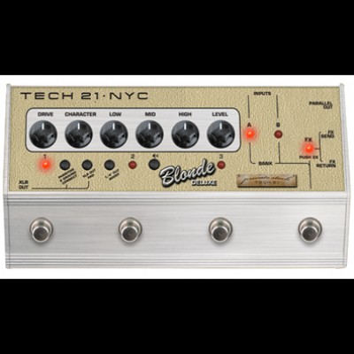 Tech 21 SansAmp Blonde Deluxe Character Series