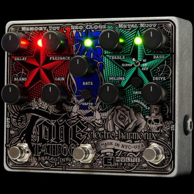 Tone Tattoo - analog multi-effects pedal