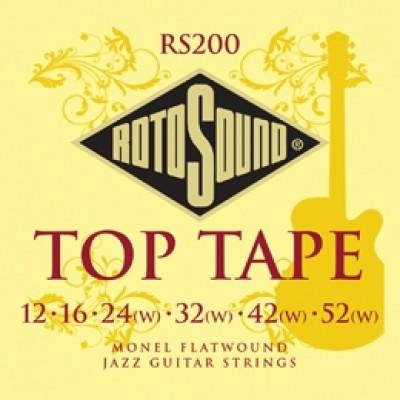 Rotosound Top Tape Monel Flatwound (12-52)