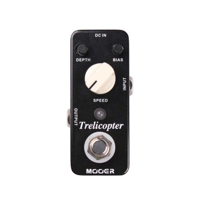 Mooer Trelicopter Optical Tremolo Pedal MTR1