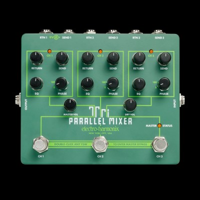 Electro Harmonix - Tri Parallel Mixer Effects Loop Mixer/Switcher
