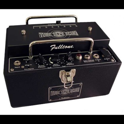 Fulltone Tube Tape Echo TTE (Matte Black Metal Finish)