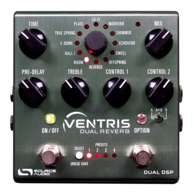 Source Audio Ventris Dual Reverb Pedal