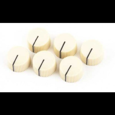 Fender Vintage Radio Amplifier Knobs (Cream)