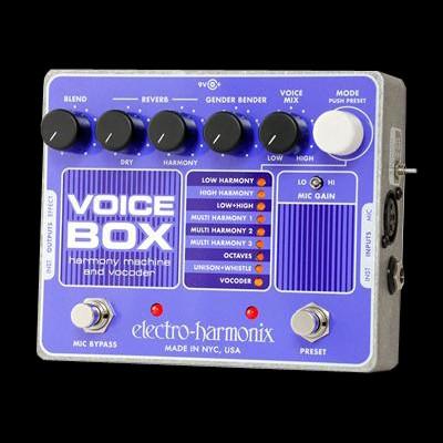 Voice Box Vocal Harmony Machine/Vocoder