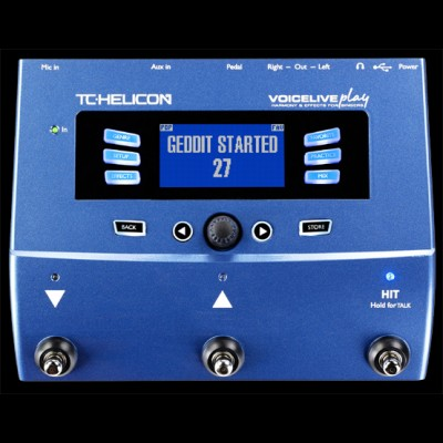 TC Helicon VoiceLive Play Harmony and Effect Unit for Vocals