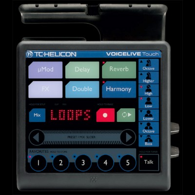 VoiceLive Touch, Vocal Processor and Looper