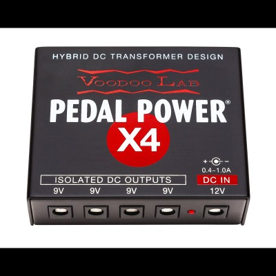 Voodoo Lab PPX4EX Pedal Power X4 Pedal Board Power Supply