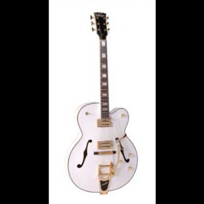 Vintage VSA850 with Bigsby Trem (White)