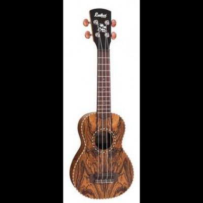 Laka VUS75 Butterfly Wood Soprano Ukulele