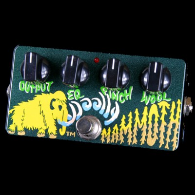 Zvex Woolly Mammoth bass effects pedal