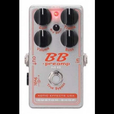 Xotic Custom Shop BB Preamp with Mid Boost