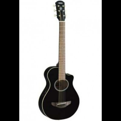 Yamaha APXT2NT Black Electro-Acoustic Travel Guitar