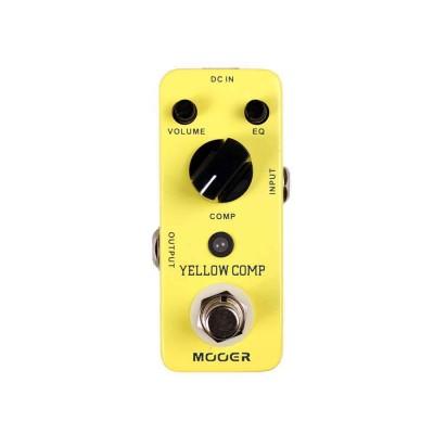 Mooer Yellow Comp Optical Compressor Pedal MCS2