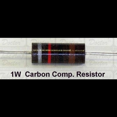Resistors 1k Ohm, 1 Watt