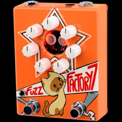 Z.Vex Fuzz Factory 7 (Hand Painted)