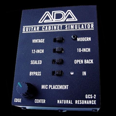 A/DA GCS-2 Guitar Cabinet Simulator & DI Box Hot Rox UK