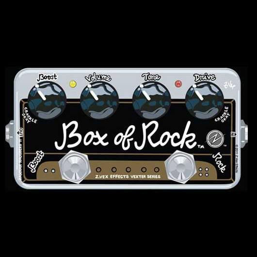 Zvex Vexter Box Of Rock Hot Rox Uk