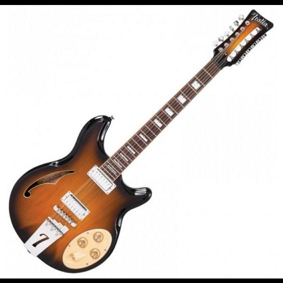 italia rimini 12 string guitar two tone sunburst hot rox uk. Black Bedroom Furniture Sets. Home Design Ideas