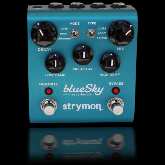 strymon bluesky reverberator effects pedal hot rox uk. Black Bedroom Furniture Sets. Home Design Ideas