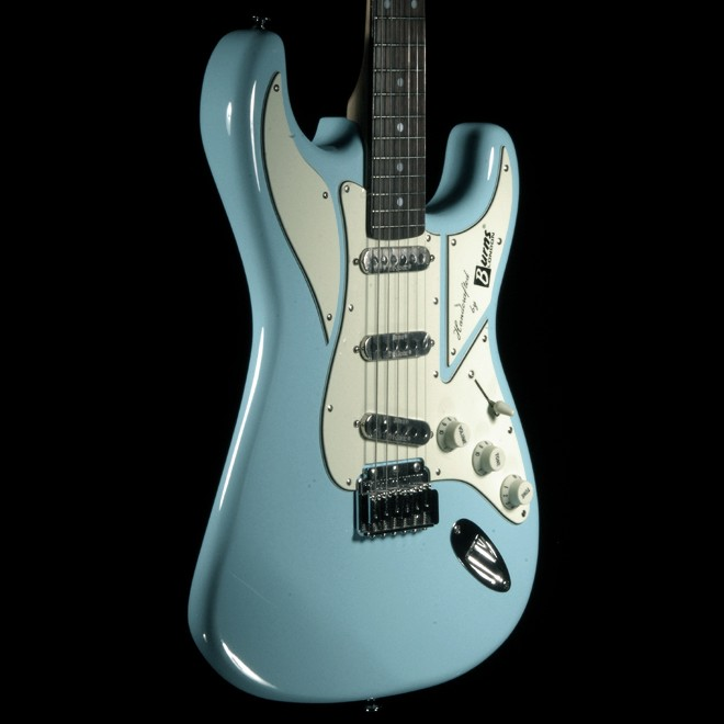 Burns Guitar Cobra (Light Blue) Hot Rox UK