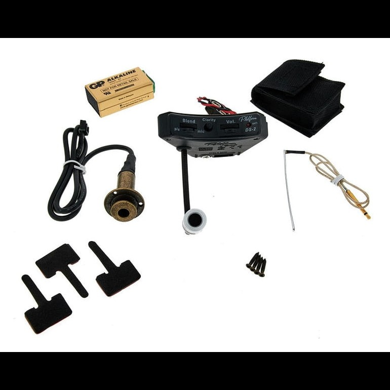 DS2 Sound Hole Mount Pickup / Preamp System