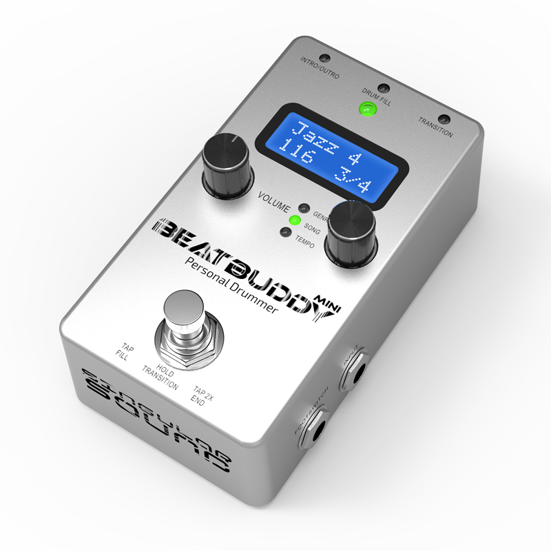 singular sound beatbuddy mini guitar pedal drum machine hot rox uk. Black Bedroom Furniture Sets. Home Design Ideas