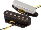 Fender Vintage Noiseless Tele Set  Fender Vintage Noiseless Tele pickups produce the brilliant single-coil clarity, definition and twang of a vintage 1960s Tele without the hum.  As Heard on