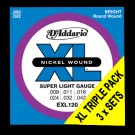 EXL120 Super Lt Triple Packs