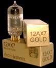 12AX7 Gold Pin