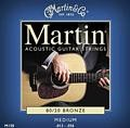 Martin 80/20 Bronze Acoustic Strings 13-56, M150