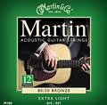 Martin 12 Strings 80/20 Bronze Extra  Light 10-47, M180