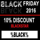 Blackstar - Black Friday 2016