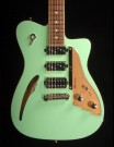 Duesenberg Caribou Guitar (Cyan Green)