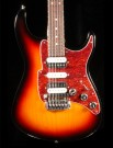 Fret King Super Matic guitar Classic Burst + Case