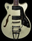 Fullerton TV Double Cutaway Vintage White