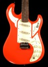Guitar Marquee Red