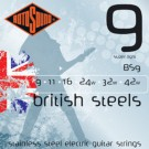 BS9 British Steels 9-42 Gauge Electric Guitar Strings