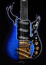 Burns Apache Noisless Guitar (Trans Blue)