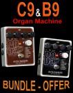 Electro Harmonix B9 & C9 Organ Machine (Bundle Offer)