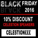 Celestion - Black Friday 2016