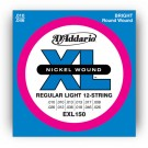 EXL150 Nickel Wound, 12-String, Regular Light