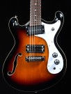 Danelectro 66 Guitar in 3 Tone Sunburst